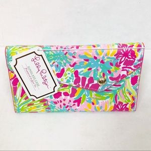 Lilly Pulitzer Sunglass Case In Spot Ya Print